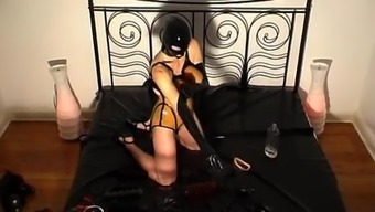 Rubber whore - pissing and fucking - part 1-6