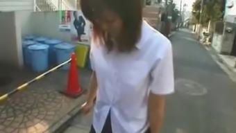 JAV enema walk of shame for schoolgirl Subtitles