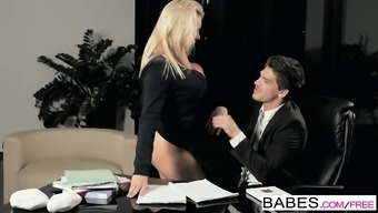 Babes - Office Obsession - Bruce Venture and