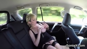 Adulterous uk mature lady sonia exposes her massive tits52Uf