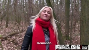 Public Pick Ups - Euro Blonde Has Cute Small Tits starring