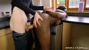 jai james gets fucked on the washing machine by danny d