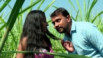 Desi indian girl romance in the outdoor jungle - teen99 - indian short film