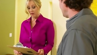 Determined Aunt Julia Ann In Stockings Likes Fast Dick