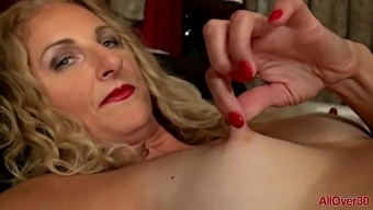 Layla Wolf Luxurious Play from AllOver30