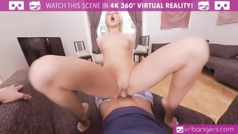 VR PORN-Cherry Kiss take a big dick in her ass and wet pussy