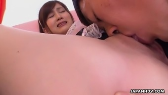 kawaii hikaru ayami gives head and gets licked out