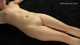verka sudanova exhibits her beautiful virgin pussy in all its glory