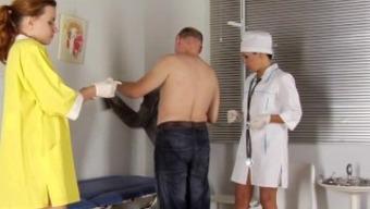 RUSSIAN MEDICAL FEMDOM HANDJOB-0037