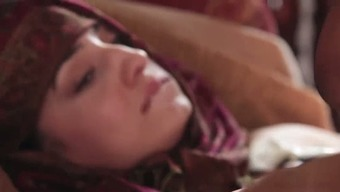 Pale skin and juicy Pakistani pornstar Nadia Ali blows BBC