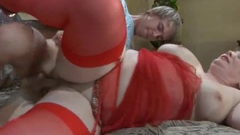 Russian mature Flo anal
