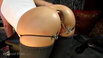 All Anal Closeup Creampie with Abigail Dupree