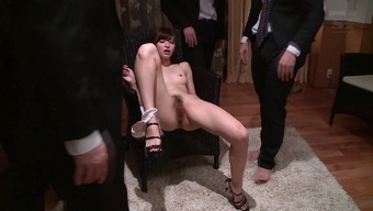 Super tight Japanese body on this hot cum whore