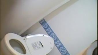 Toilet Masturbation  Hot Japanese  Stewardess