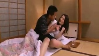 Enticing Asian wife with a sublime ass knows exactly what a