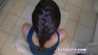 Lelu Love-French Braid POV Blowjob Hair Cumshot