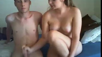 Couple naked on cam