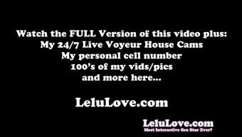 Lelu Love-Super Closeup Pussy Fingering Asshole Puckering