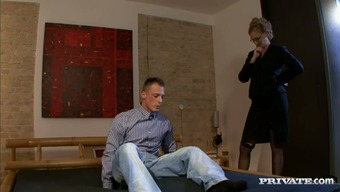 A Sexy Milf is having sex with her colleague
