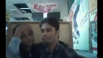 Bangladeshi BF& GF in restaurant 1- full on hotcamgirls . in