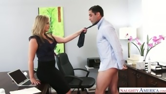 Stunning boss Alexis Texas has a habit of fucking her employees