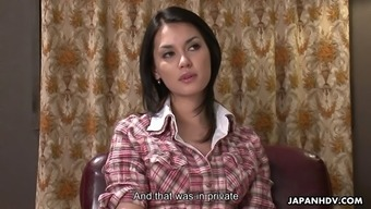 Famous Japanese Maria Ozawa in a hot interview and more