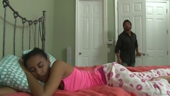 Jazzy Jamison has an incredible butt and likes to have sex with older men