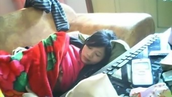 Asian unsecured webcam hacked 73