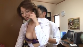 Hot mature slut with huge honkers in hardcore action