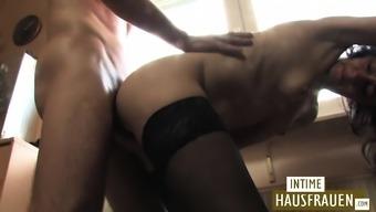 Mature couple anal fuck