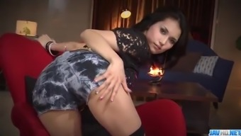 Sexy threesome porn action along slimMaria Ozawa