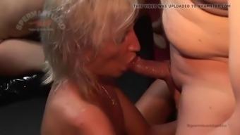 kinky creampie sluts: texas patti and sandra