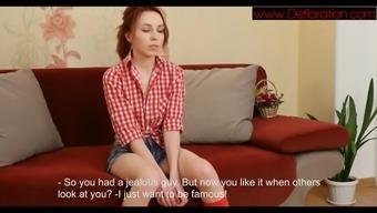 polina temyanova on a sexy casting
