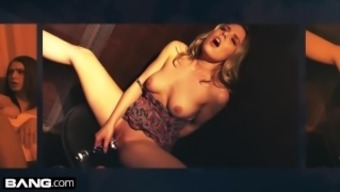 BANG Confessions - Sarah Vandella gets anal & deepthroat on tour