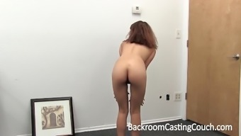 Cute Teen Anal Creampie on Casting Couch