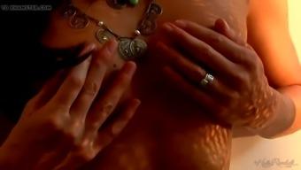 brunette milf india summer masturbating