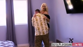XXX Porn video - Stepmoms Boobs 3 Nicolette Shea and Justin