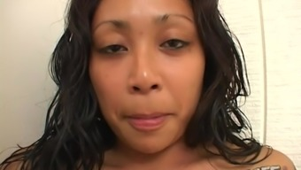 Horny brunette Finesse wants to make a black dick stiff