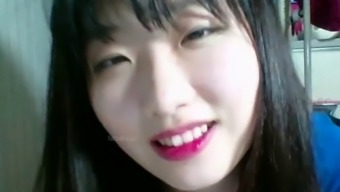 Korean sensual teen hottest cam teasing