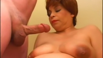 Pregnant cocksucker Erica Cane wants to show us how insatiable she is