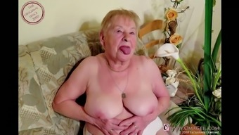 OmaGeiL Nearly Hundred Years Old Grandma Naked