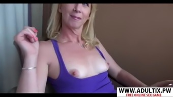 Euro mother bonnie riding cock well tender son&#39s friend