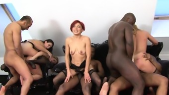 Mature Hotties Drilled with BBC and Toys