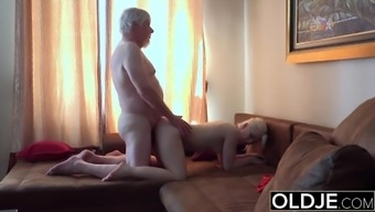 Dad Pulling My Hair And Penetrates Me From Behind Wet