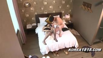 Hot Korean Lady Likes Sex