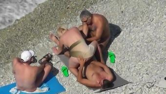 Beach Mature Swingers