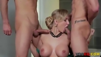 kayla green dp threesome