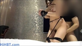 chinese girl with model's body getting fucked in the hotel