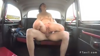 natural busty amateur fucks in fake taxi