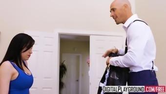 DigitalPlayground - Maid Service with Johnny Sins Luna Star